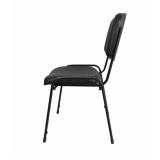 quanto custa cadeira estofada preta Jardim Helian