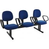 quanto custa cadeira longarina 4 lugares av direitos humanos