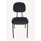 quanto custa cadeira preta estofada Vila Germaine