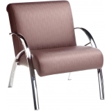 sofá para recepção de consultório 3 lugares Vila Caborne