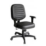 valor de cadeira de escritório giratória estofada Jardim Itapemirim