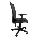venda de cadeira de escritório giratória de tela Granja Julieta