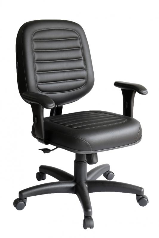 Valor de Cadeira Secretária Giratória com Braços Freguesia do ó - Cadeira Secretária Giratória